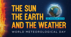 promotional image for world meteorological day